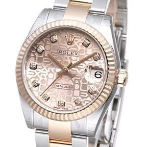 Rolex Datejust 31 178271-0038 Kello Pinkki / Teräs