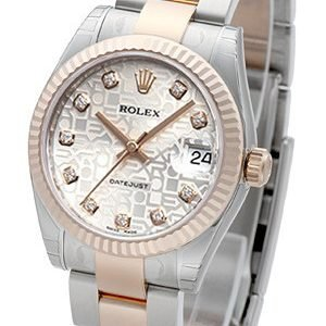 Rolex Datejust 31 178271-0043 Kello Hopea / Teräs