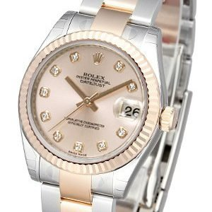Rolex Datejust 31 178271-0045 Kello Pinkki / Teräs