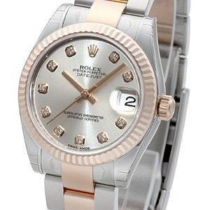 Rolex Datejust 31 178271-0046 Kello Hopea / Teräs