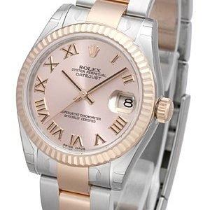 Rolex Datejust 31 178271-0062 Kello Pinkki / Teräs