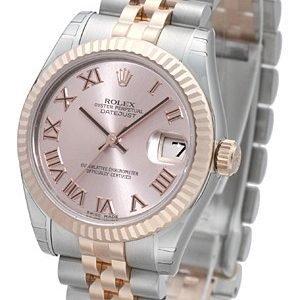Rolex Datejust 31 178271-0068 Kello Pinkki / Teräs