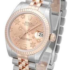 Rolex Datejust 31 178271-0070 Kello Pinkki / Teräs