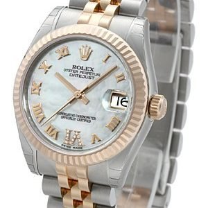 Rolex Datejust 31 178271-0073 Kello Valkoinen / Teräs