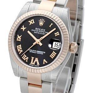 Rolex Datejust 31 178271-0076 Kello Violetti / Teräs
