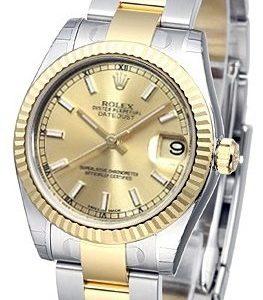 Rolex Datejust 31 178273-0009 Kello Samppanja / Teräs