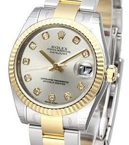 Rolex Datejust 31 178273-0040 Kello Hopea / Teräs