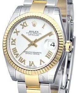 Rolex Datejust 31 178273-0072 Kello Valkoinen / Teräs