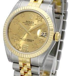 Rolex Datejust 31 178273-0092 Kello Samppanja / Teräs
