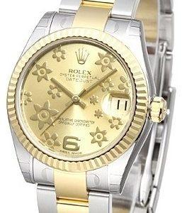 Rolex Datejust 31 178273-0093 Kello Samppanja / Teräs