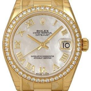 Rolex Datejust 31 178288-0025 Kello Valkoinen / 18k Keltakultaa