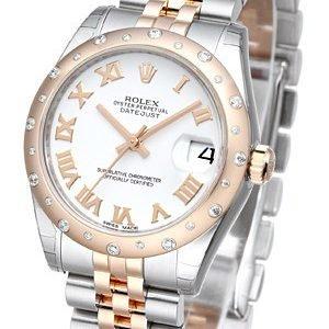 Rolex Datejust 31 178341-0001 Kello Valkoinen / Teräs
