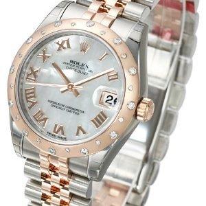 Rolex Datejust 31 178341-0005 Kello Valkoinen / Teräs