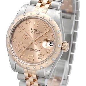 Rolex Datejust 31 178341-0006 Kello Samppanja / Teräs