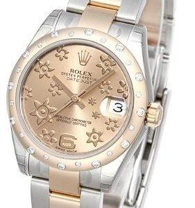 Rolex Datejust 31 178341-0013 Kello Samppanja / Teräs