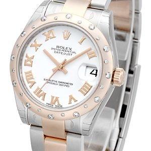 Rolex Datejust 31 178341-0015 Kello Valkoinen / Teräs