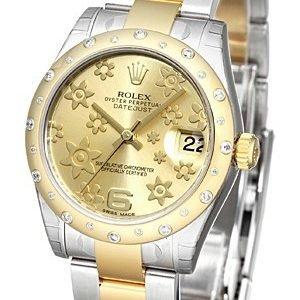 Rolex Datejust 31 178343-0003 Kello Samppanja / Teräs