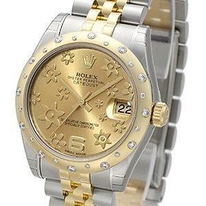 Rolex Datejust 31 178343-0013 Kello Samppanja / Teräs