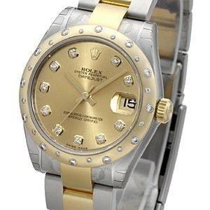 Rolex Datejust 31 178343-0020 Kello Samppanja / Teräs