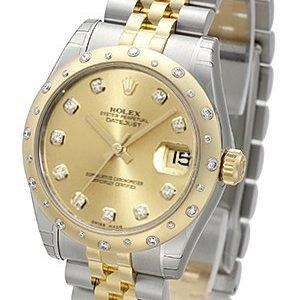 Rolex Datejust 31 178343-0052 Kello Samppanja / Teräs