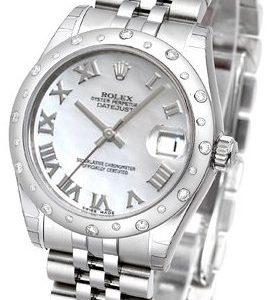 Rolex Datejust 31 178344-0007 Kello Valkoinen / Teräs