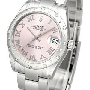 Rolex Datejust 31 178344-0012 Kello Pinkki / Teräs