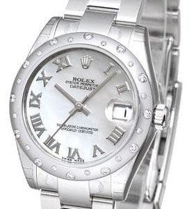 Rolex Datejust 31 178344-0027 Kello Valkoinen / Teräs