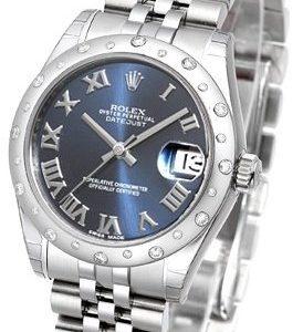 Rolex Datejust 31 178344-0035 Kello Sininen / Teräs