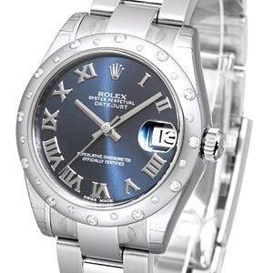 Rolex Datejust 31 178344-0053 Kello Sininen / Teräs