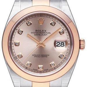 Rolex Datejust 41 126301-0007 Kello Punakultaa / 18k Punakultaa