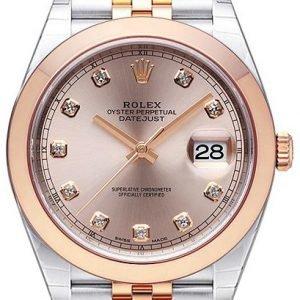 Rolex Datejust 41 126301-0008 Kello Punakultaa / 18k Punakultaa