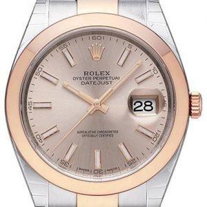 Rolex Datejust 41 126301-0009 Kello Punakultaa / 18k Punakultaa