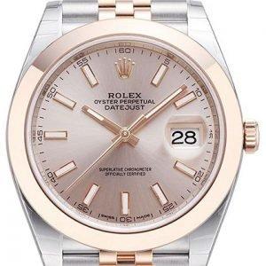 Rolex Datejust 41 126301-0010 Kello Punakultaa / 18k Punakultaa