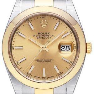 Rolex Datejust 41 126303-0009 Kello Kullattu / 18k Keltakultaa