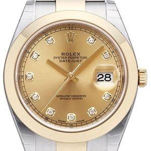Rolex Datejust 41 126303-0011 Kello Kullattu / 18k Keltakultaa