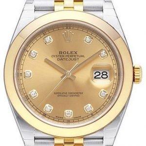 Rolex Datejust 41 126303-0012 Kello Kullattu / 18k Keltakultaa