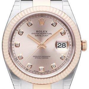 Rolex Datejust 41 126331-0007 Kello Punakultaa / 18k Punakultaa