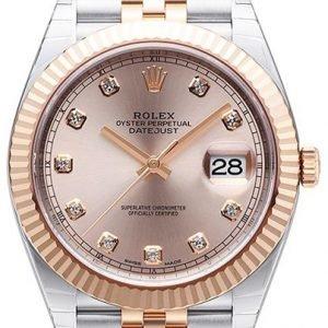 Rolex Datejust 41 126331-0008 Kello Punakultaa / 18k Punakultaa