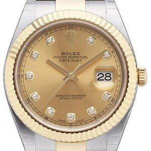 Rolex Datejust 41 126333-0011 Kello Kullattu / 18k Keltakultaa