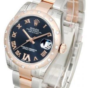 Rolex Datejust Lady 178341-0011 Kello Violetti / Teräs