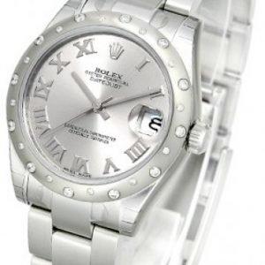 Rolex Datejust Lady 178344-0011 Kello Hopea / Teräs
