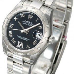 Rolex Datejust Lady 178344-0016 Kello Violetti / Teräs