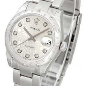 Rolex Datejust Lady 178344-0031 Kello Hopea / Teräs