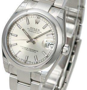 Rolex Datejust Lady 31 Mm 178240-0022 Kello Hopea / Teräs