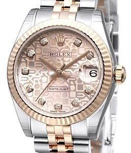 Rolex Datejust Lady 31 Mm 178271-0012 Kello Pinkki / 18k