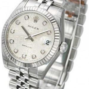 Rolex Datejust Lady 31 Mm 178274-0017 Kello Hopea / Teräs