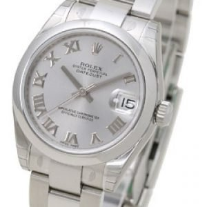 Rolex Datejust Midsize 178240-0006 Kello Hopea / Teräs