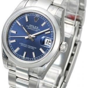 Rolex Datejust Midsize 178240-0023 Kello Sininen / Teräs