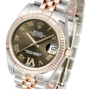 Rolex Datejust Midsize 178271-0071 Kello Vihreä / 18k
