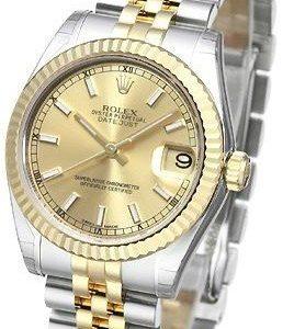 Rolex Datejust Midsize 178273-0001 Kello Kullattu / 18k